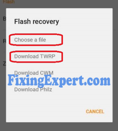 Install Twrp on Xiaomi redmi Note 3 by Using Flashify App